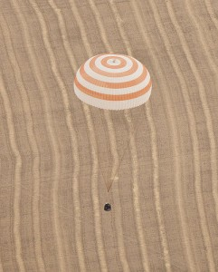 Atterraggio della Soyuz TMA-18