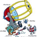 Pio e Bubble Boy alle Telescopiadi