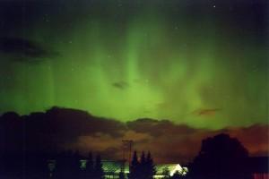 aurora verde smeraldo