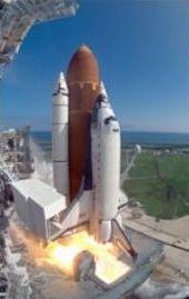 Il Columbia al decollo in una precedente missione. (NASA)