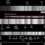 Fig.18 - Spettro di Scheat (Beta Pegasi): evidente la presenza di bande molecolari