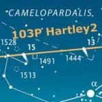 Mappa Cometa Hartley Ottobre 2010