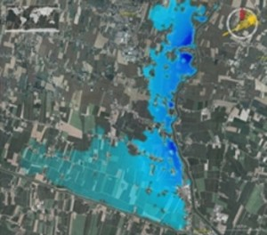 Alluvione in Veneto - ASI - Cosmo-SkyMed