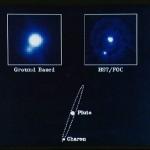 Plutone e Caronte osservati da Hubble
