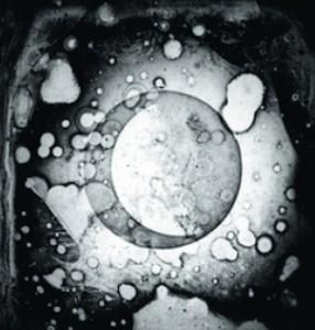 Il tentativo di Daguerre di fotografare la Luna nel 1839 produsse questo (disastroso) risultato.