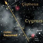 L'asteroide (1036) Ganymed si sta avviando verso la più profonda opposizione da un secolo a questa parte, che lo porterà in ottobre all'avvicinamento record di 0,359 UA dalla Terra.