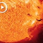 """Il Sole torna a """"esplodere"""""""