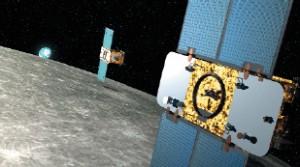 GRAIL in orbita lunare