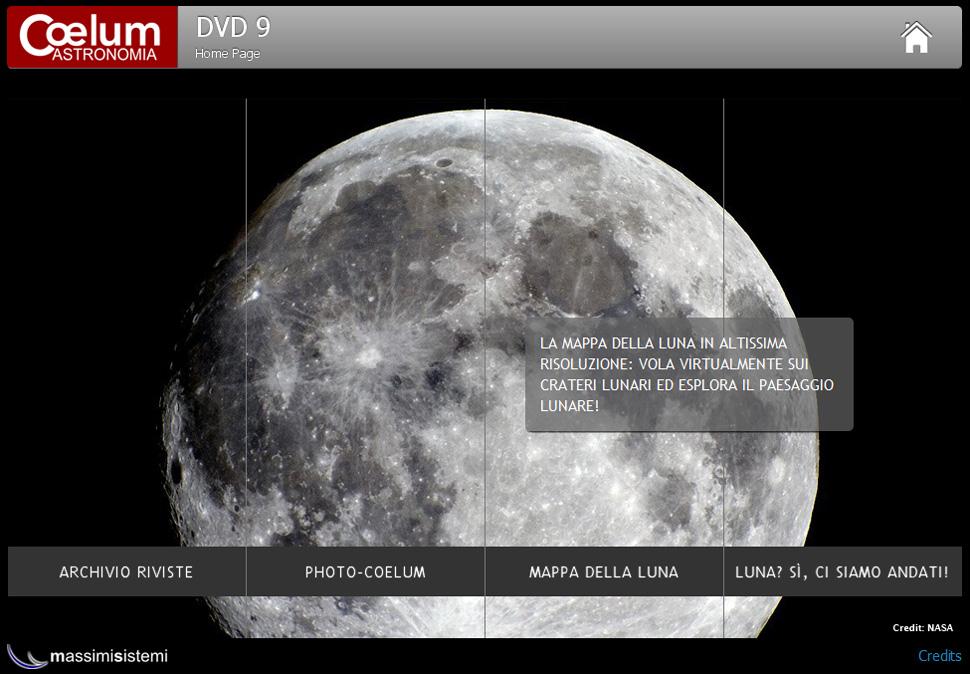 dvd coelum 9 - home Luna