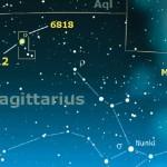 Bagliori di luce nel Sagittario