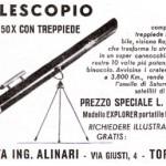 Cinquant'anni fa, i telescopi Alinari