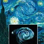 Van Gogh e la galassia M51