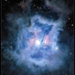 Iris Nebula – Poster CFHT