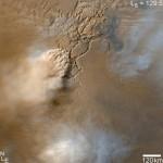 Venti da uragano tra i dust devil di Marte
