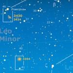 Deboli luci nel LEONE MINORE