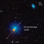 GROOMBRIDGE 1830, una saetta esplosiva tra le stelle