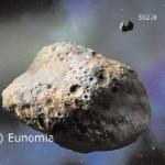La misura della nuova massa dell'asteroide (15) Eunomia