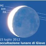 L'Occultazione lunare di Giove del 15 Luglio