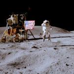 """Le bandiere degli Apollo sono ancora al """"vento"""""""