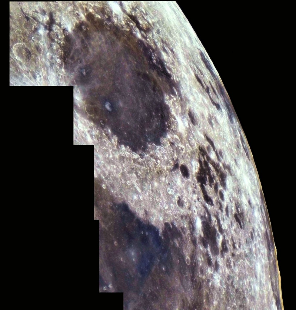 mosaico bordo lunare