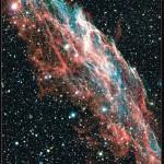 The Veil Nebula – Poster CFHT