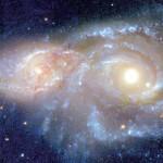 NGC 2207 e IC 2163, altra coppia di galassie INTERAGENTI - ma ne siamo proprio sicuri?