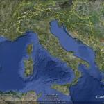 Un viaggio fra le regioni italiane viste dallo spazio