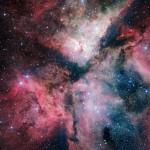 Inaugurato a Napoli il VLT Survey Telescope con una nuova immagine della Nebulosa della Carena
