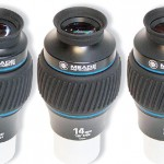 Oculari Meade Xtreme Wide Angle - Le tre nuove focali della Serie 5000 a 100° di campo