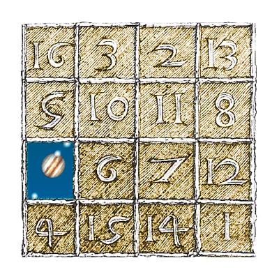 Moebius quadrato magico