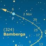 Asteroidi – Nemesis con Nysa, e Bamberga ci saluta