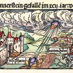 Travi volanti, comete e meteore nel cielo del medioevo