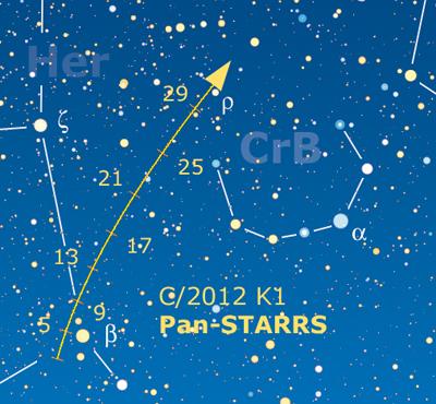 comete panstarrs