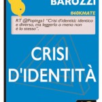 Crisi d'identità. Identico e diverso tra matematica, letteratura e gioco - Marco Fulvio Barozzi