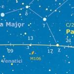 La Pan-STARRS sotto la coda dell'Orsa