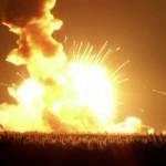 Il razzo Antares della missione CRS-3 esplode pochi secondi dopo il lancio