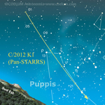Appuntamento all'alba per puntare la C/2012 K1 Pan-STARRS - 2