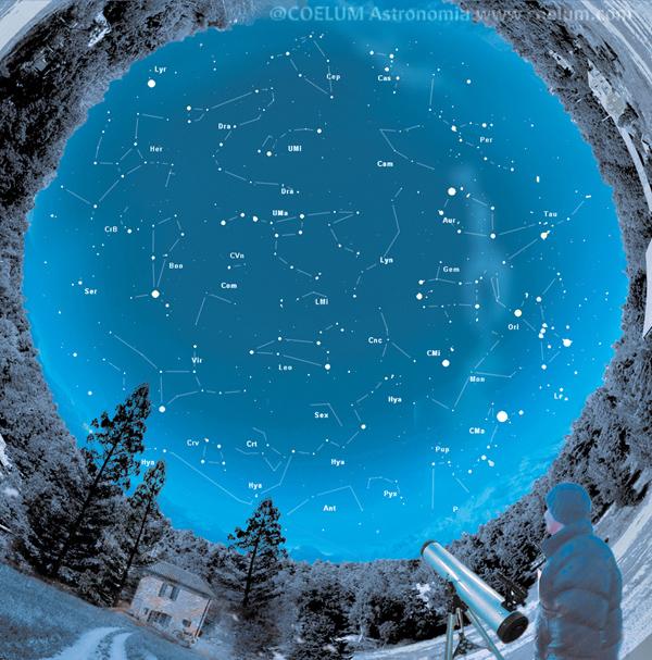 cartina cielo del mese