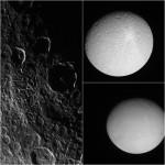 Cassini visita tre lune di Saturno in un giorno
