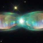 Hubble: ali di farfalla. Nuove immagini della nebulosa Twin Jet