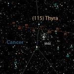 Zelinda e Thyra due signore nel cielo di gennaio