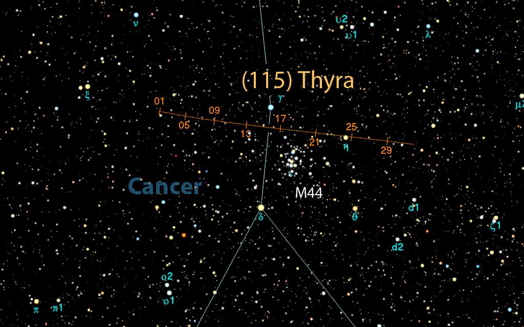 cartina thyra