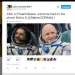 """Kelly e Kornienko sono tornati: conclusa la missione """"One Year"""""""