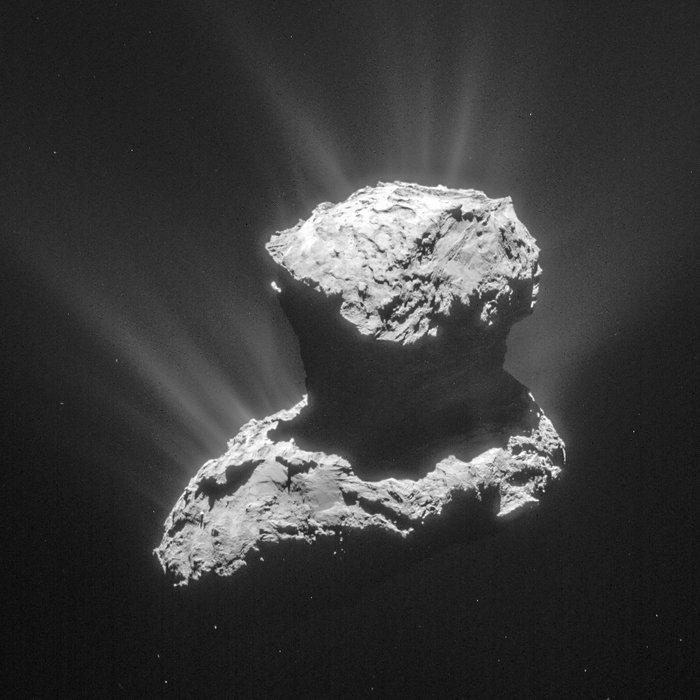 Sonda Rosetta: osservate molecole organiche su una cometa