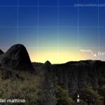 Mercurio e Giove: capolino dall'orizzonte