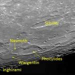 La Luna di Dicembre - Osserviamo i crateri Schickard, Nasmyth, Wargentin, Phocylides