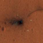 ExoMars. Il vento marziano agita il paracadute di Schiaparelli