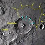La Luna di Gennaio - Osserviamo i crateri Theophilus, Cyrillus e Catharina