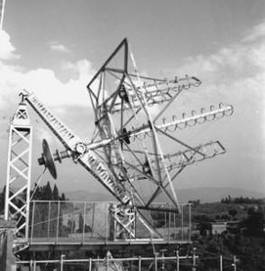 I primi radiotelescopi presso l'Osservatorio di Arcetri