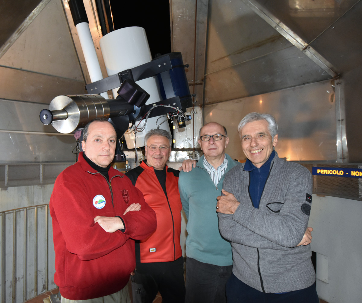 Il Team dell'Osservatorio di Monte Baldo